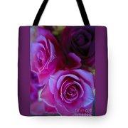 Beautiful Purple Roses 2 Tote Bag