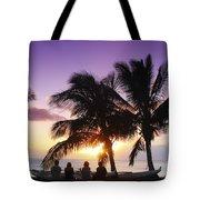 Beautiful Purple Sunset Tote Bag