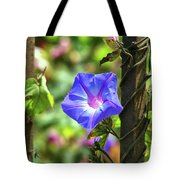 Beautiful Railroad Vine Flower Tote Bag