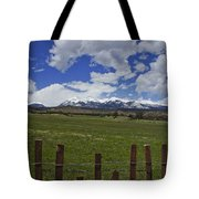 Beautiful Rocky Mountains Tote Bag