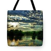 Beautiful Scene Before Sunset Tote Bag