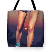 Beautiful Sportive Womens Legs Tote Bag
