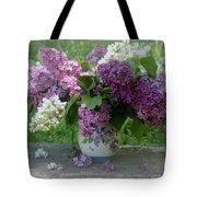 Beautiful Spring Flowers In A Vase Tote Bag