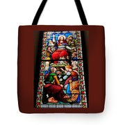 Beautiful Stained Glass At Emmanuel Church Baltimore # 5 Tote Bag
