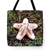 Beautiful Starfish In The Coral Reef Tote Bag