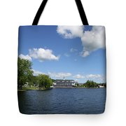 Beautiful Summerday At Lake Winnipesaukee Tote Bag