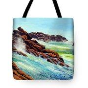 Beautiful Surf Tote Bag