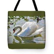 Beautiful Swan Tote Bag