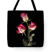 Beautiful Two Tone Roses 3 Tote Bag