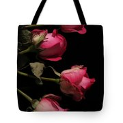 Beautiful Two Tone Roses 4 Tote Bag