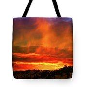 Beautiful Utah Sunset Tote Bag