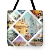 Beautiful Vacation Collage  Tote Bag