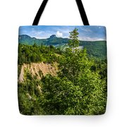 Nature Taking Back Its Place At Vajont Dam Tote Bag