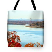 Beautiful View Of The Hudson River 1 Tote Bag