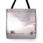 Beautiful Village By Day Tote Bag