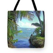 Beautiful Waters Of Puerto Rico Tote Bag