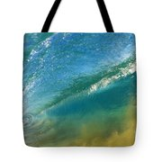 Beautiful Wave Breaking Tote Bag
