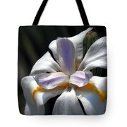 Beautiful White Day Lily Tote Bag