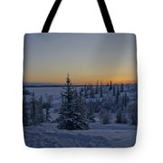 Beautiful Winter Sunrise Tote Bag