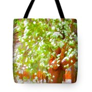 Beautiful Winter Tree Tote Bag