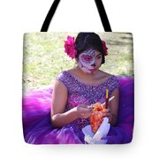Beautiful Woman Day Of Dead IIi Tote Bag