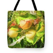 Beautiful Yellow Apple Tote Bag