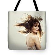 Beautiful Young Woman Tote Bag