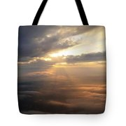 Beauty Above The Clouds Tote Bag
