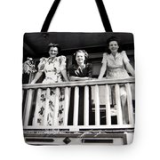 Beauty And Balconies Tote Bag
