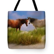 Beauty And Friendship Tote Bag