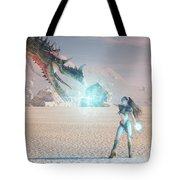 Beauty And The Beast Tote Bag by Melissa Krauss