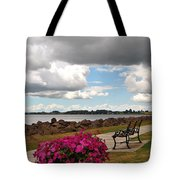 Beauty And The Bench Tote Bag