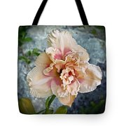 Beauty And The Boulder - Daylily Tote Bag