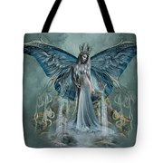 Beauty At Butterfly Falls Tote Bag
