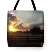Beauty At Sunset Tote Bag