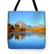 Beauty At The Bend Tote Bag