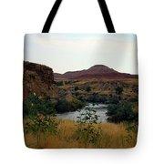 Beauty At The Big Horn River Tote Bag