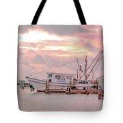 Beauty At The Marina Tote Bag