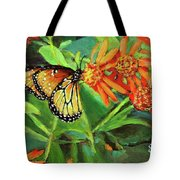 Beauty Attracts Tote Bag
