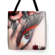 Beauty Beyond The Rose Tote Bag
