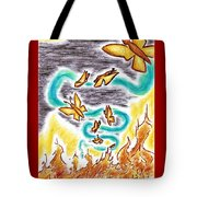 Beauty From Ashes Tote Bag