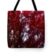 Beauty-full Red  Tote Bag