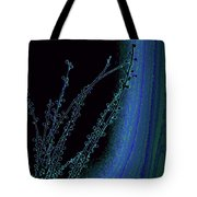Beauty In A Weed - Colorful Digital Creation Tote Bag