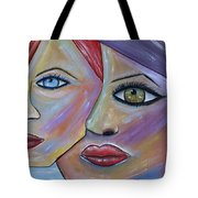 Beauty In Ourselves Tote Bag by Danielle Allard