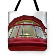Beauty In The Lighthouse Lens Tote Bag