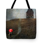 Beauty In The Silver Rain Tote Bag