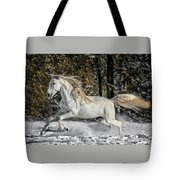Beauty In The Snow Tote Bag