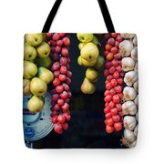 Beauty In Tomatoes Garlic And Pears Tote Bag