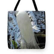Beauty In White Tote Bag