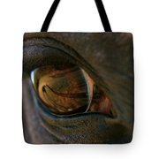 Beauty Is In The Eye Of The Beholder Tote Bag by Angela Rath